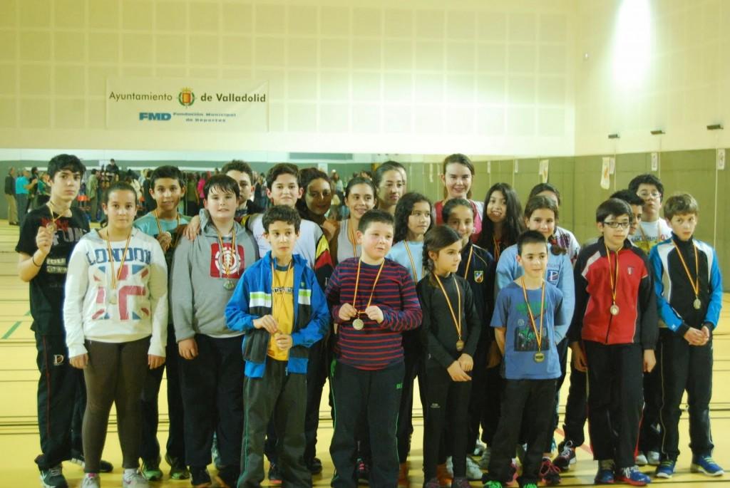 2014-11-21. I Torneo de Esgrima Escolar