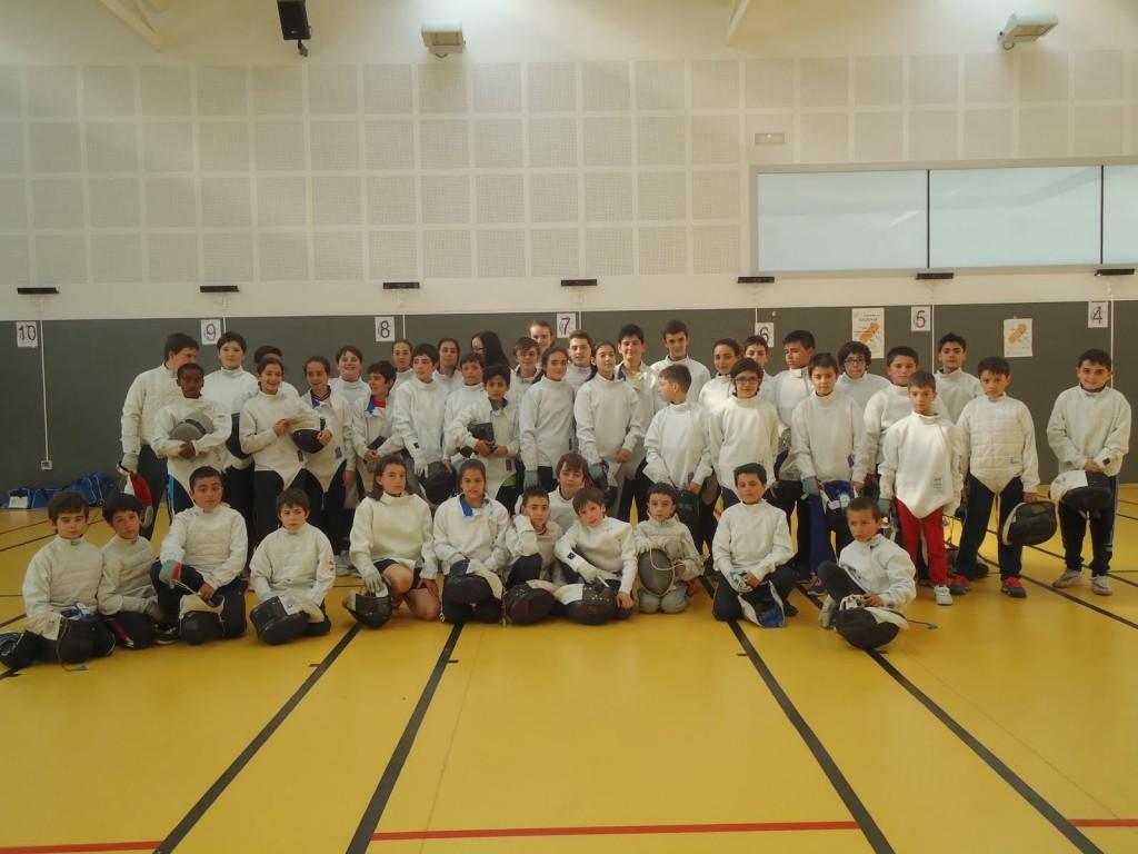 2015-05-22. X Torneo de Esgrima Escolar