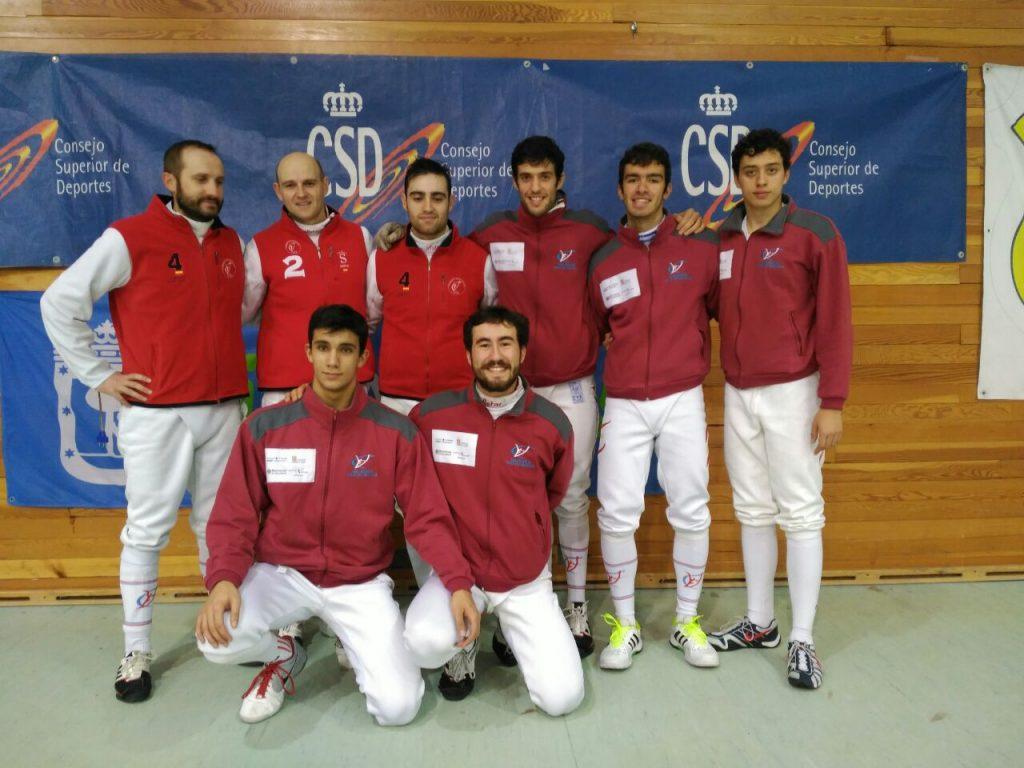 Integrantes del VCE en Madrid