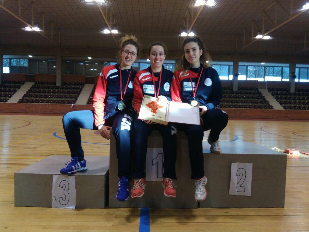 Equipo femenino junior