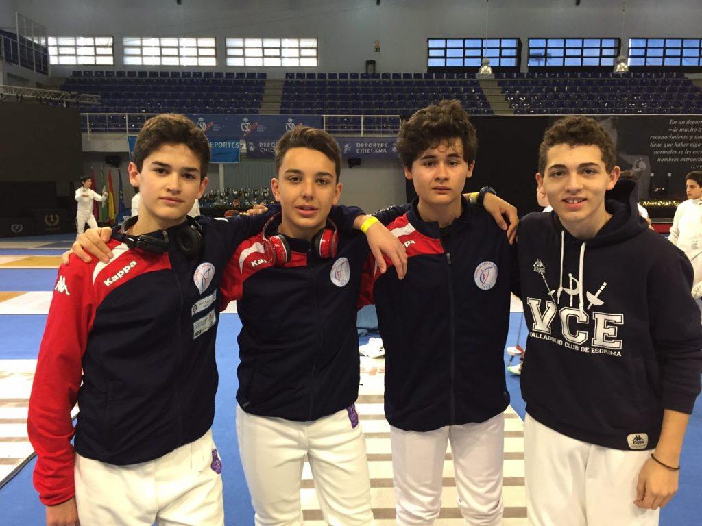 El VCE, en el Campeonato de España M-15