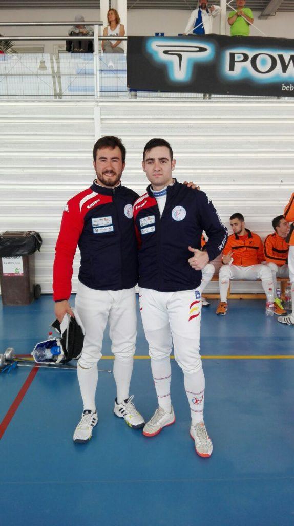 Miguel Pírez y Adrián Yáñez