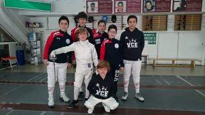 Nuestros mosqueteros en el TRR Burgos