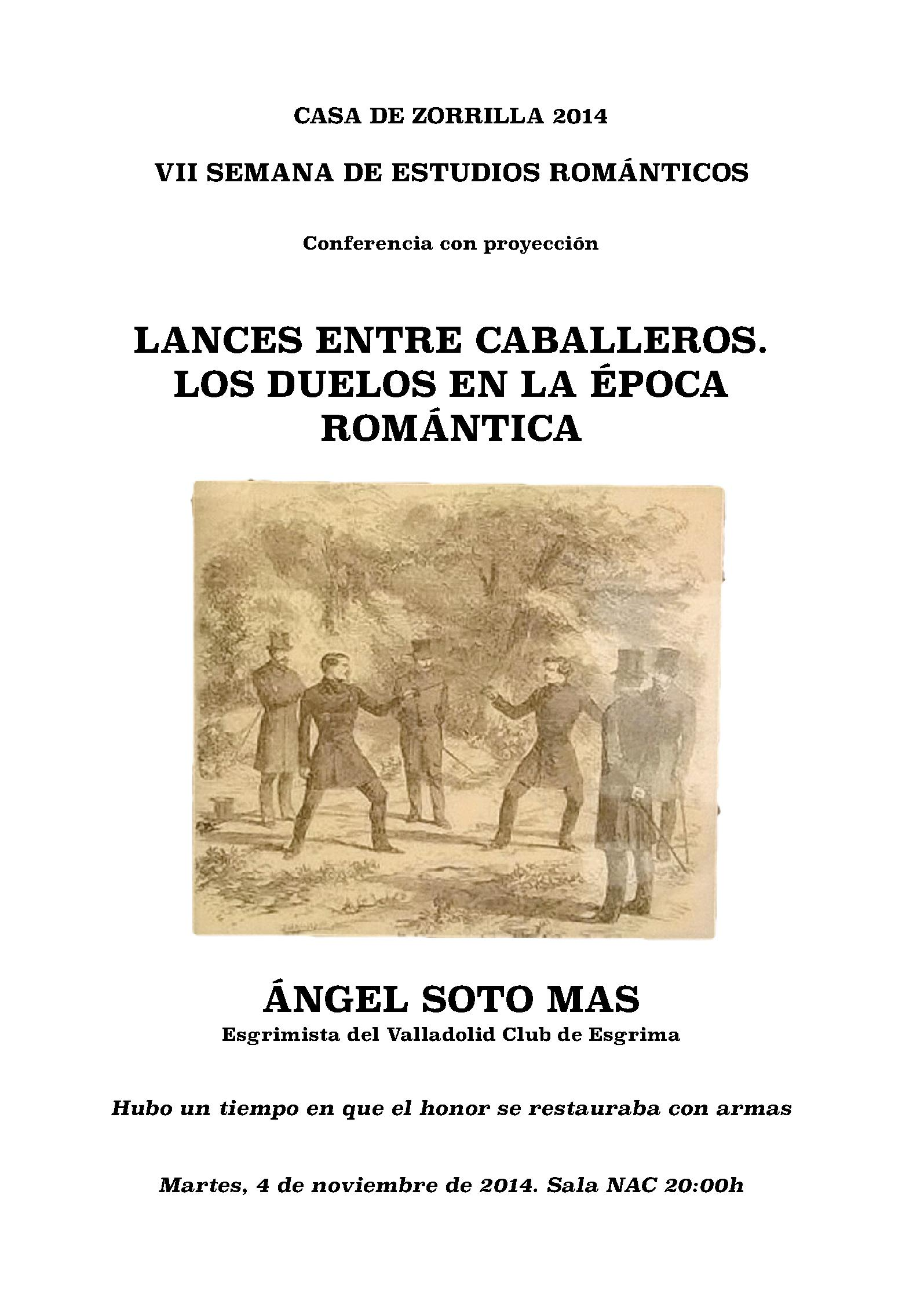 PUBLICACION - LANCES ENTRE CABALLEROS
