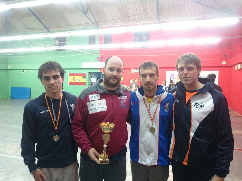 Casares, en el podio de Madrid